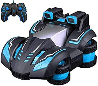 LBLA Remote Control Car for Kids 336-82J, Rc Car Off Road 2.4 GHz 360° Spins & Rollover LED Adjustable Frequency Light, Rc Truck for Boys & Girls (Blue)