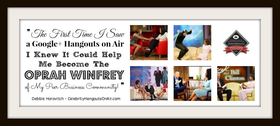 Week 6 of #HangoutProducers - CelebrityHangoutsOnAir.com