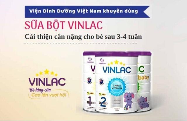 Review đánh giá sữa Vinlac 1,2 có tốt không? Giá bao nhiêu? 1