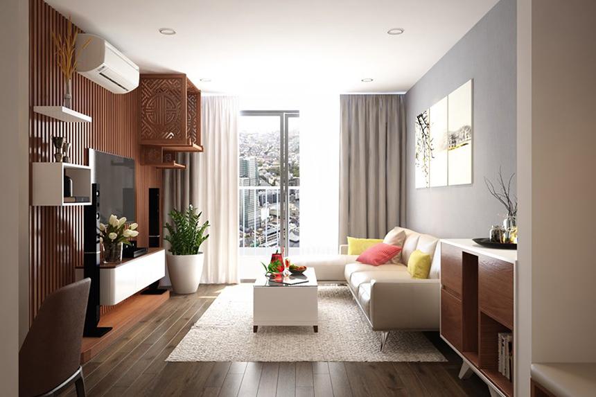 Sắp xếp phòng khách chung cư một cách đơn giản