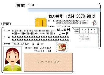 Image result for My Number card