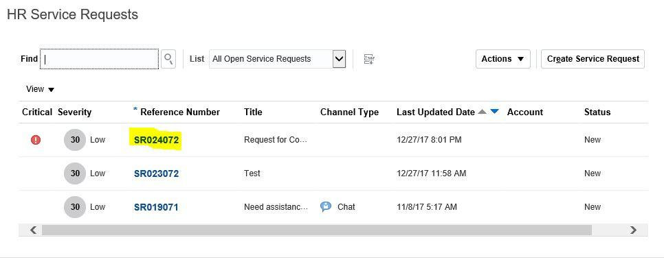 An Overview of HR Helpdesk Feature in Oracle HCM Cloud