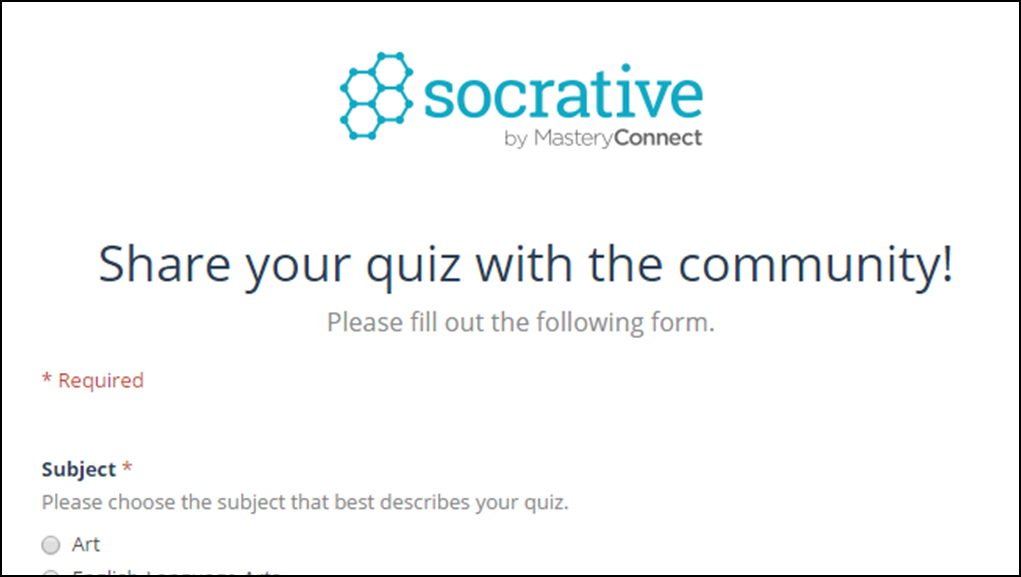 Craigs socrative shared quiz list 36 fandeluxe Image collections