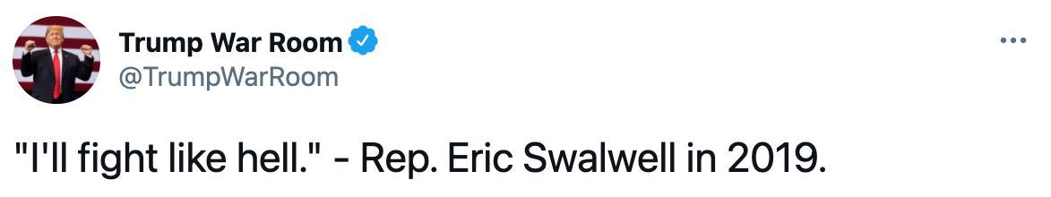 Trump impeachment managers Eric Swalwell and Jamie Raskin ...