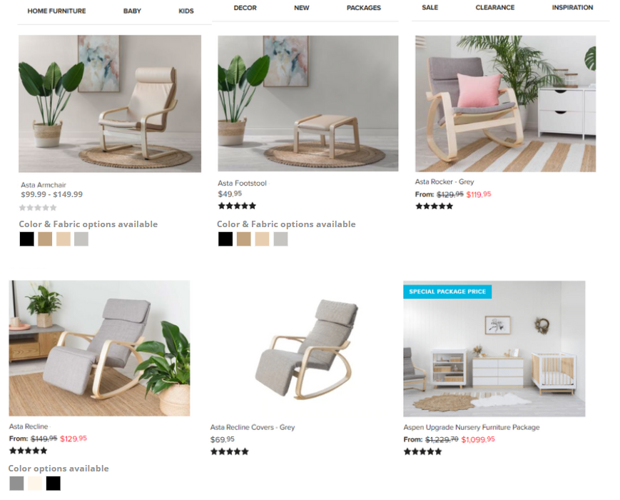 Product Variants for eCommerce