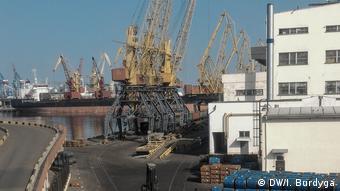У порту Одеси ДПЗКУ має потужності для зберігання і перевалки зерна