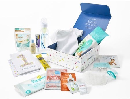 Get a box of free baby stuff from Walmart