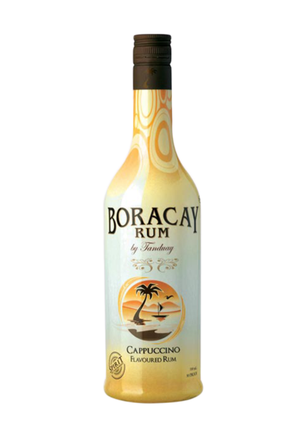 Tanduay Boracay Rum Cappuccino Flavored, Philippines (750ml ...
