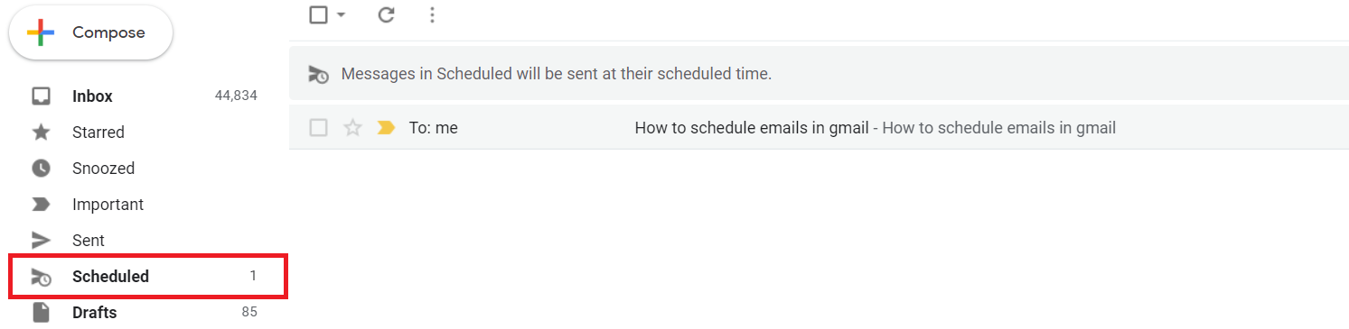 Send Automated Emails in Gmail