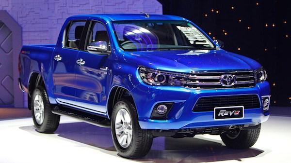 Toyota Hilux Revo เมื่อตอนเปิดตัวปี 2015