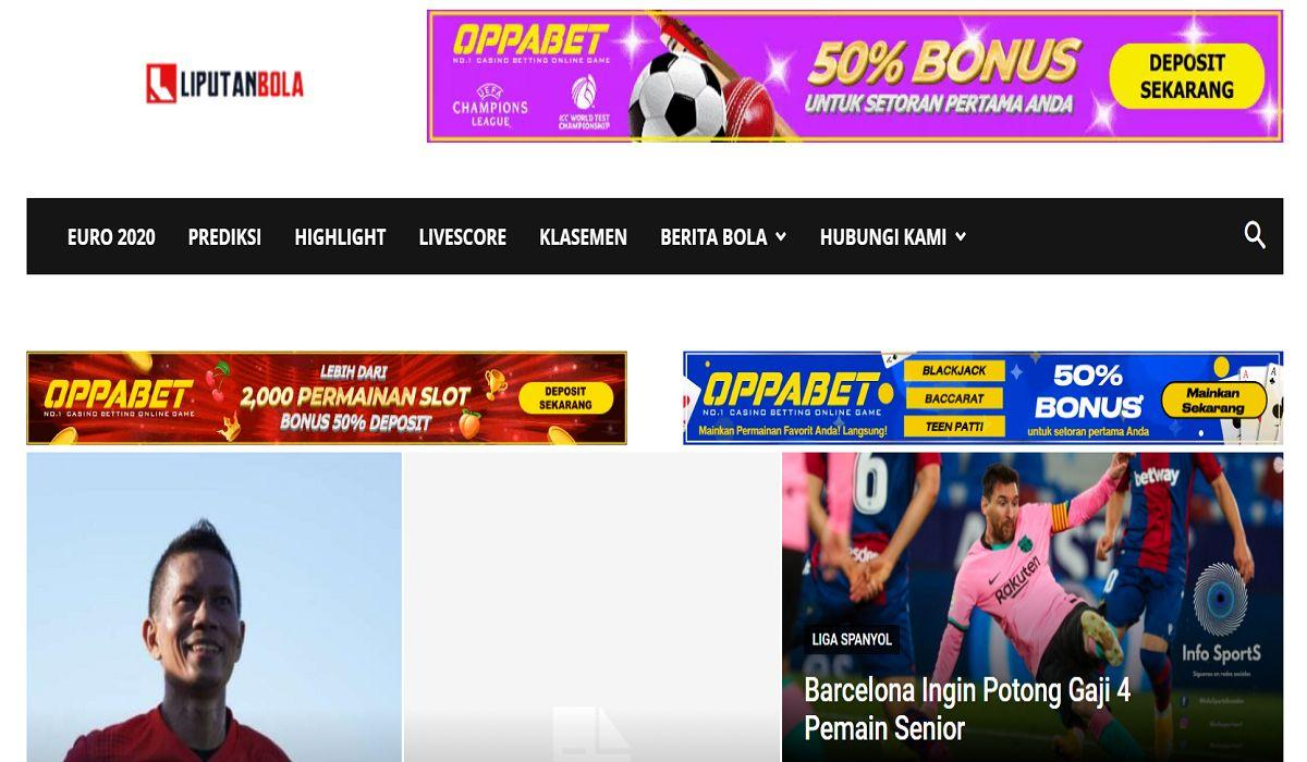 Top 10 website bóng đá của Indonesia được đánh giá cao