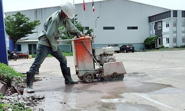 Dịch vụ khoan cắt bê tông tại huyện củ chi ngày càng được ưa chuộng