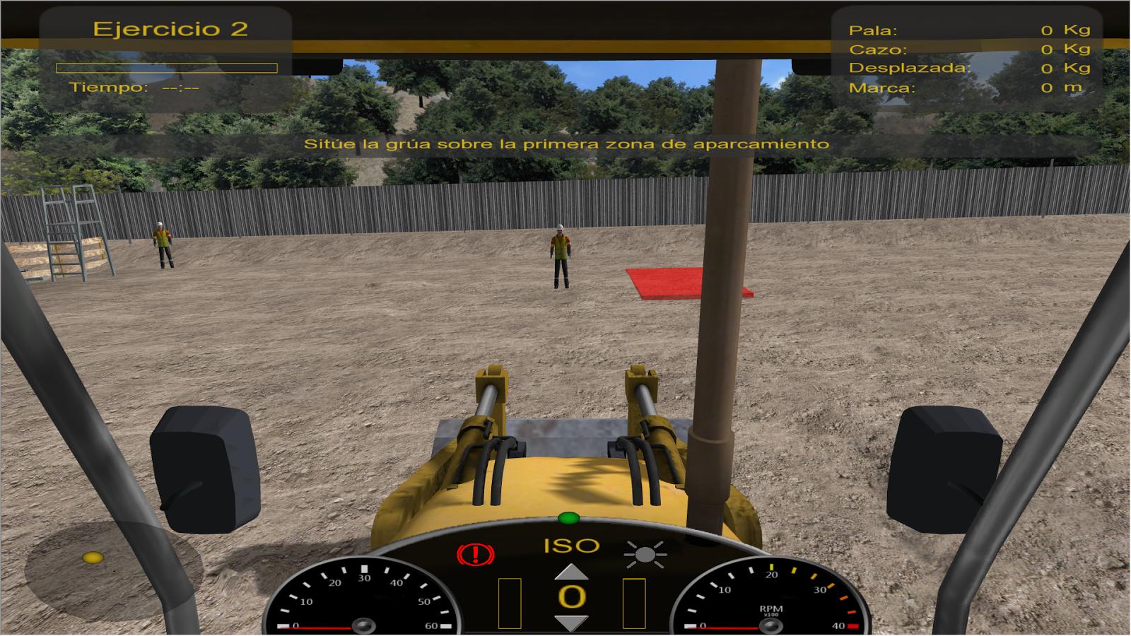 Simulador de Retroexcavadora