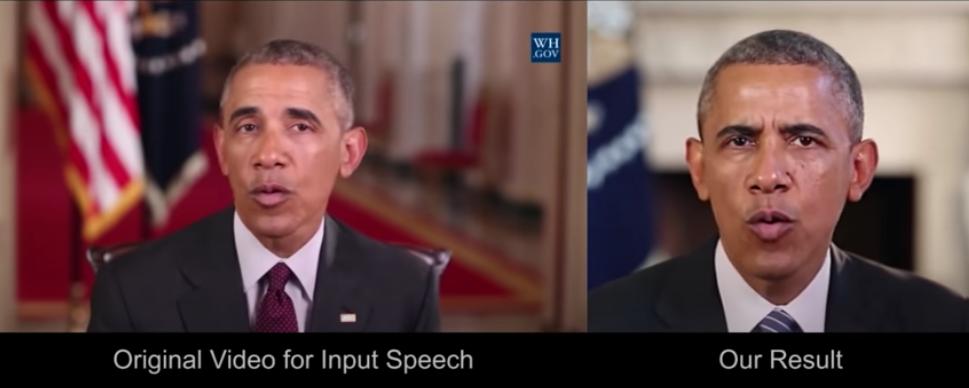President Deepfake Example