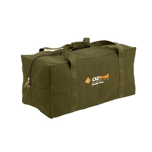Ultimate Guide To The Best Travel Duffel Bag Australia 2021 - OZtrail Canvas Duffle Bag - Large - 100 litres