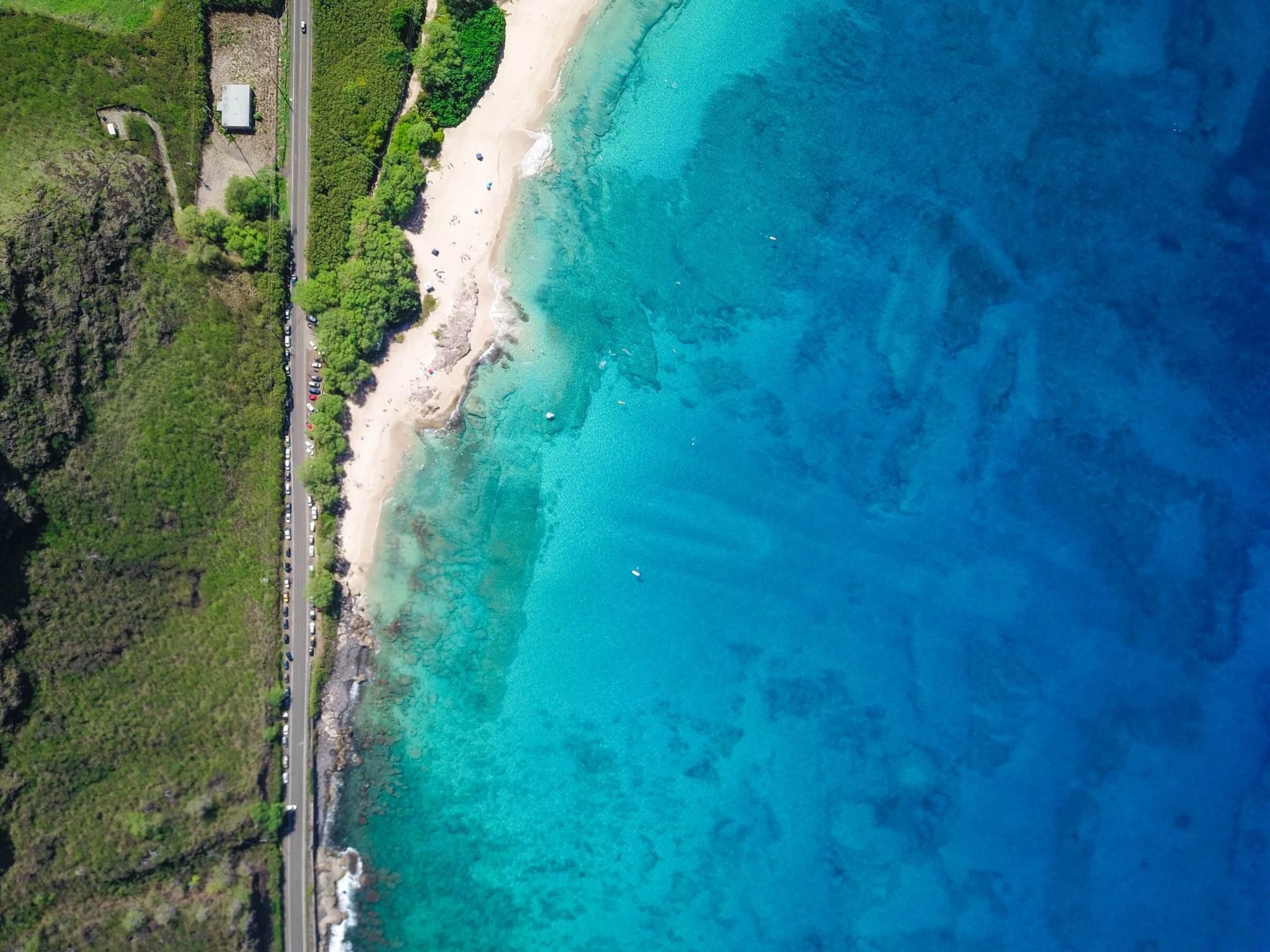 5 days in Oahu itinerary, Makua Beach, most secluded and underdeveloped beach in Oahu