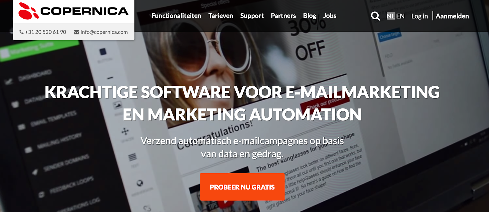 software voor e-mail marketing