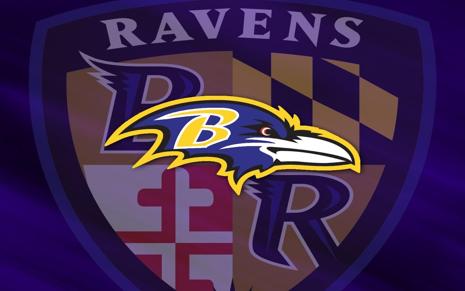 Baltimore Raven sử dụng màu tím làm màu chủ đạo của huy hiệu đội