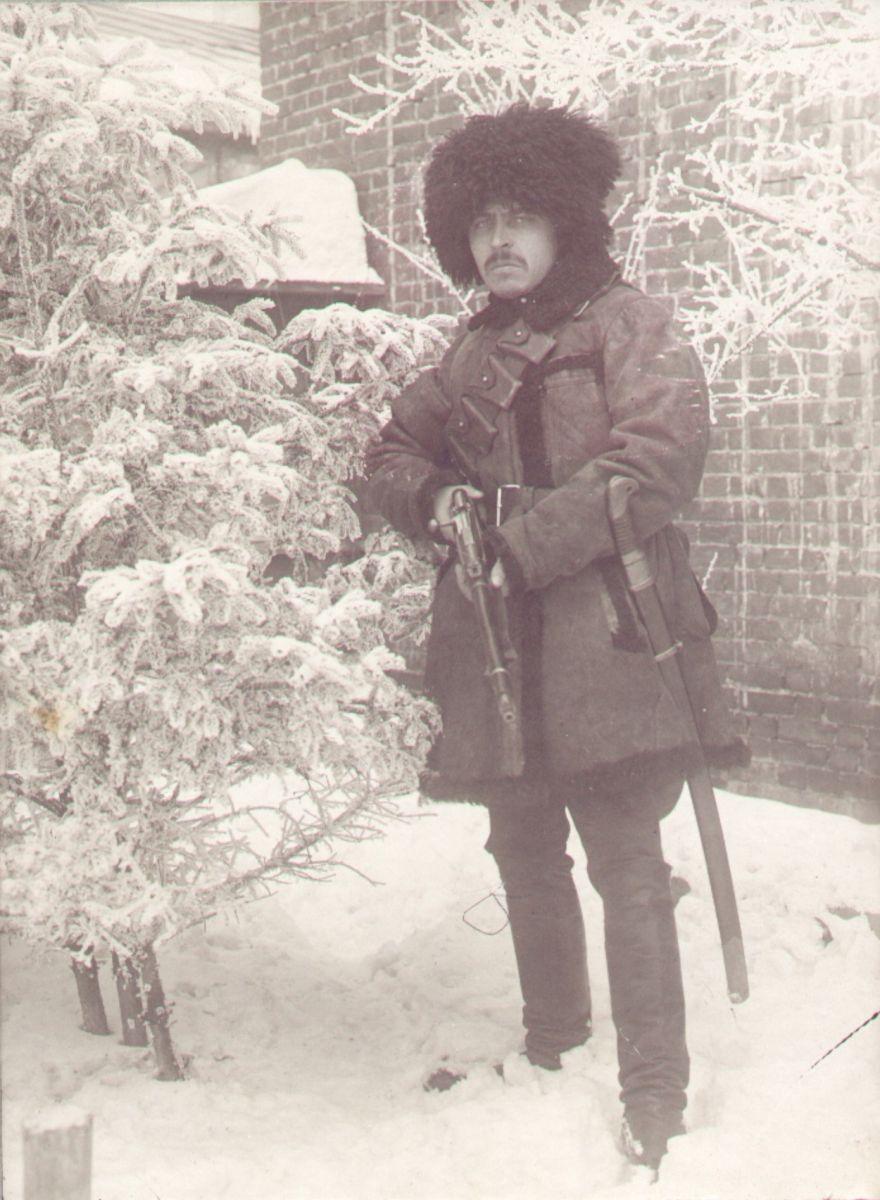 Степан Саєнко у 1919-му. З колекції Харківського історичного музею (ХІМ)