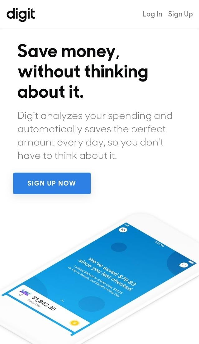 digit saves you money without thinking about it.