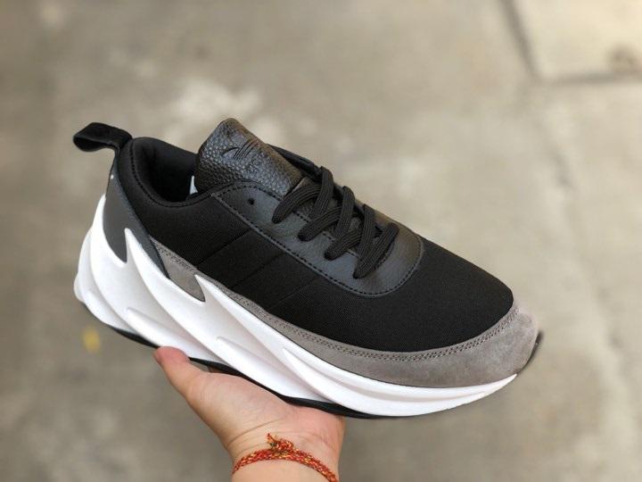 "Giày Adidas Shark ""Black/Grey"""