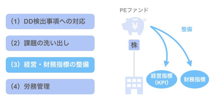 (3)経営・財務指標の整備