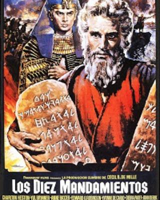 Los diez mandamientos (1956, Cecil B. DeMille)