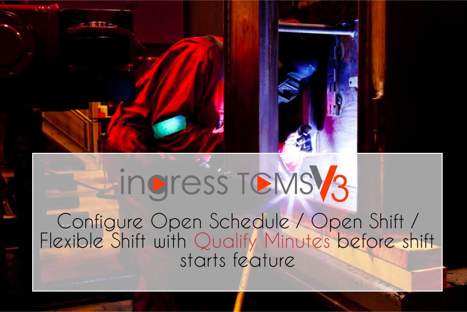 Ingress Tcms V3 Configure Open Schedule Open Shift