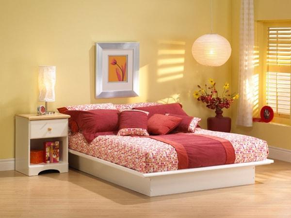 Giường ngủ theo màu sắc và phong thủy của mỗi người