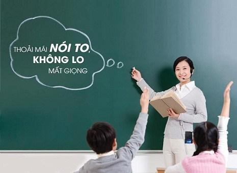 máy trợ giảng giáo viên