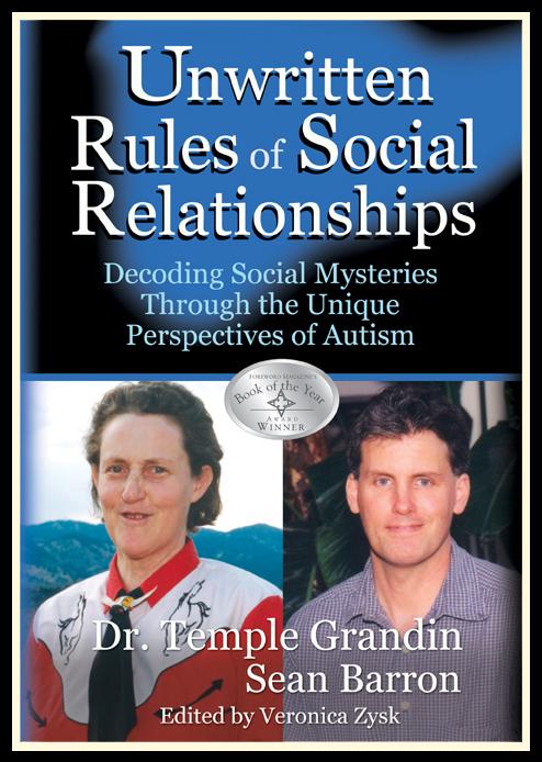 Nepsaná pravidla sociálních vztahů - kniha dvou autistů o tom, jak se vyznat ve složitém světě emocí a vztahů, zejména, pokud je každý autista vnímá rozdílně.