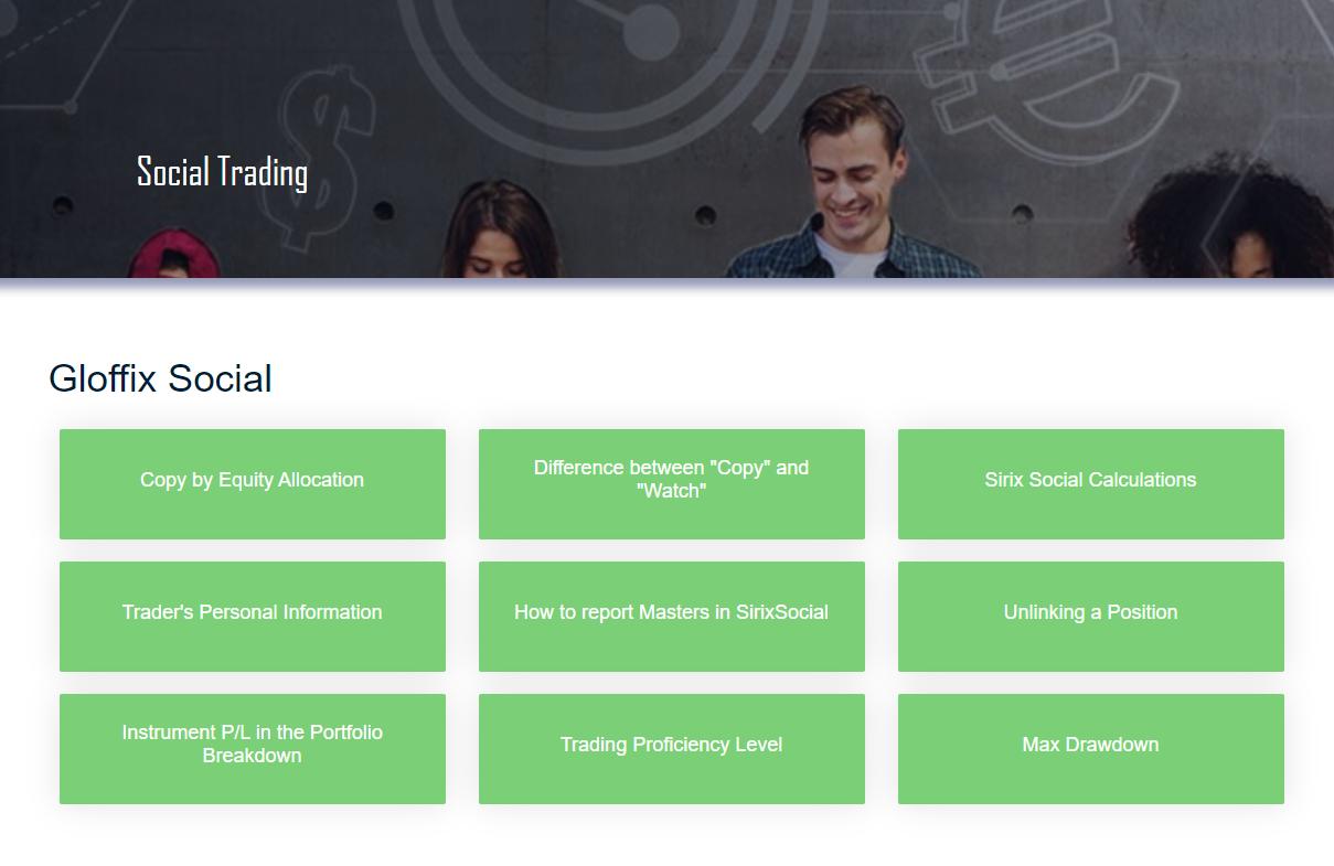 Gloffix Social Trading