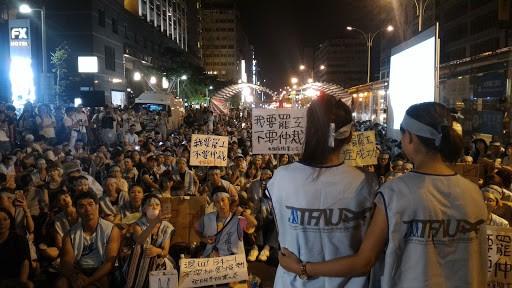 於2016年發動的華航罷工啟發了長榮勞工組織的意願。//圖片來源:ScoutT7