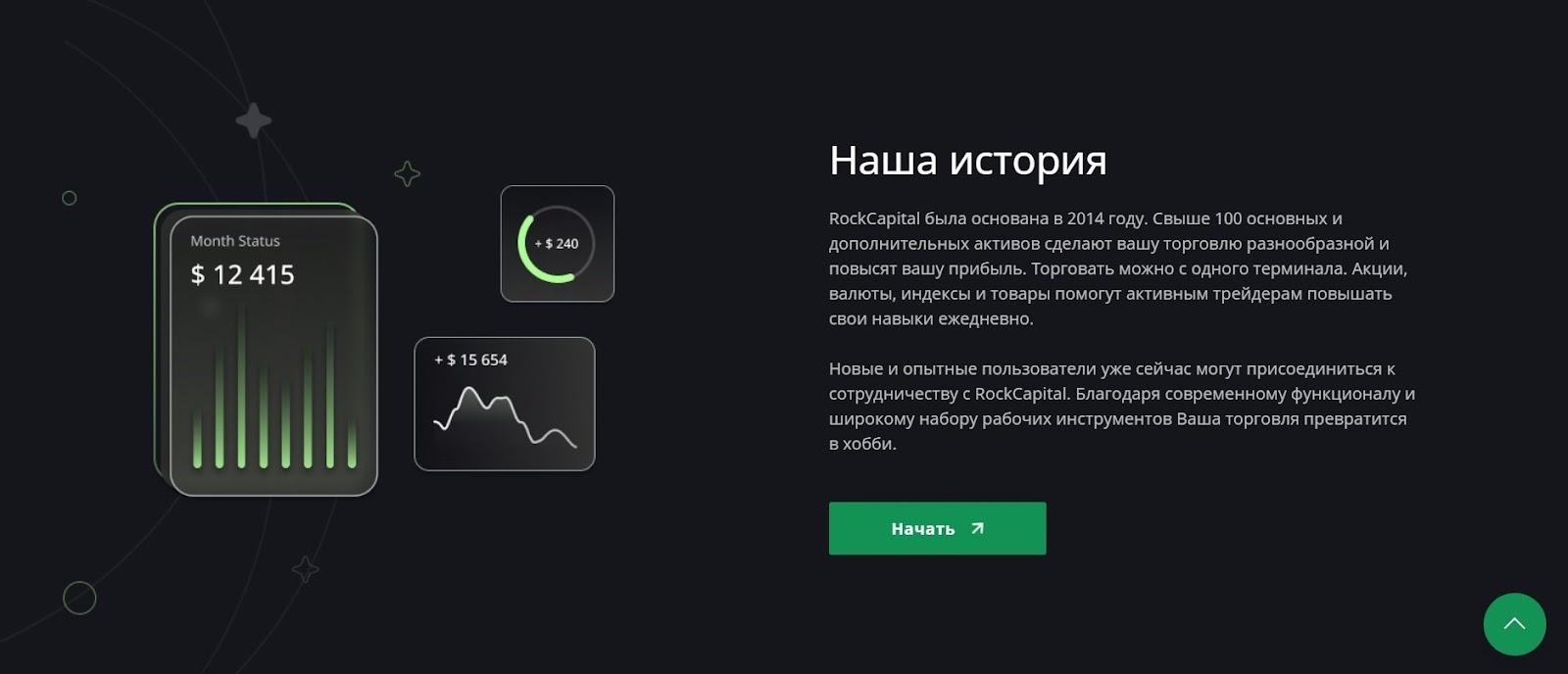 Rock Capital: отзывы о деятельности брокера в подробном обзоре