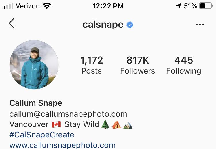 calsnape travel account