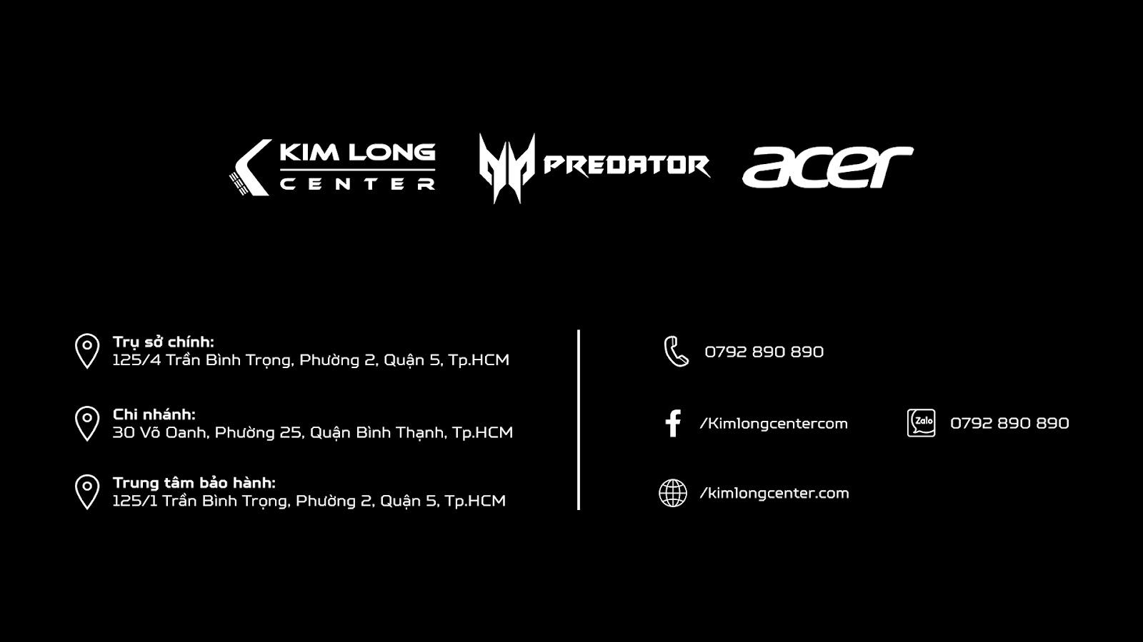 sự kiện acer predator
