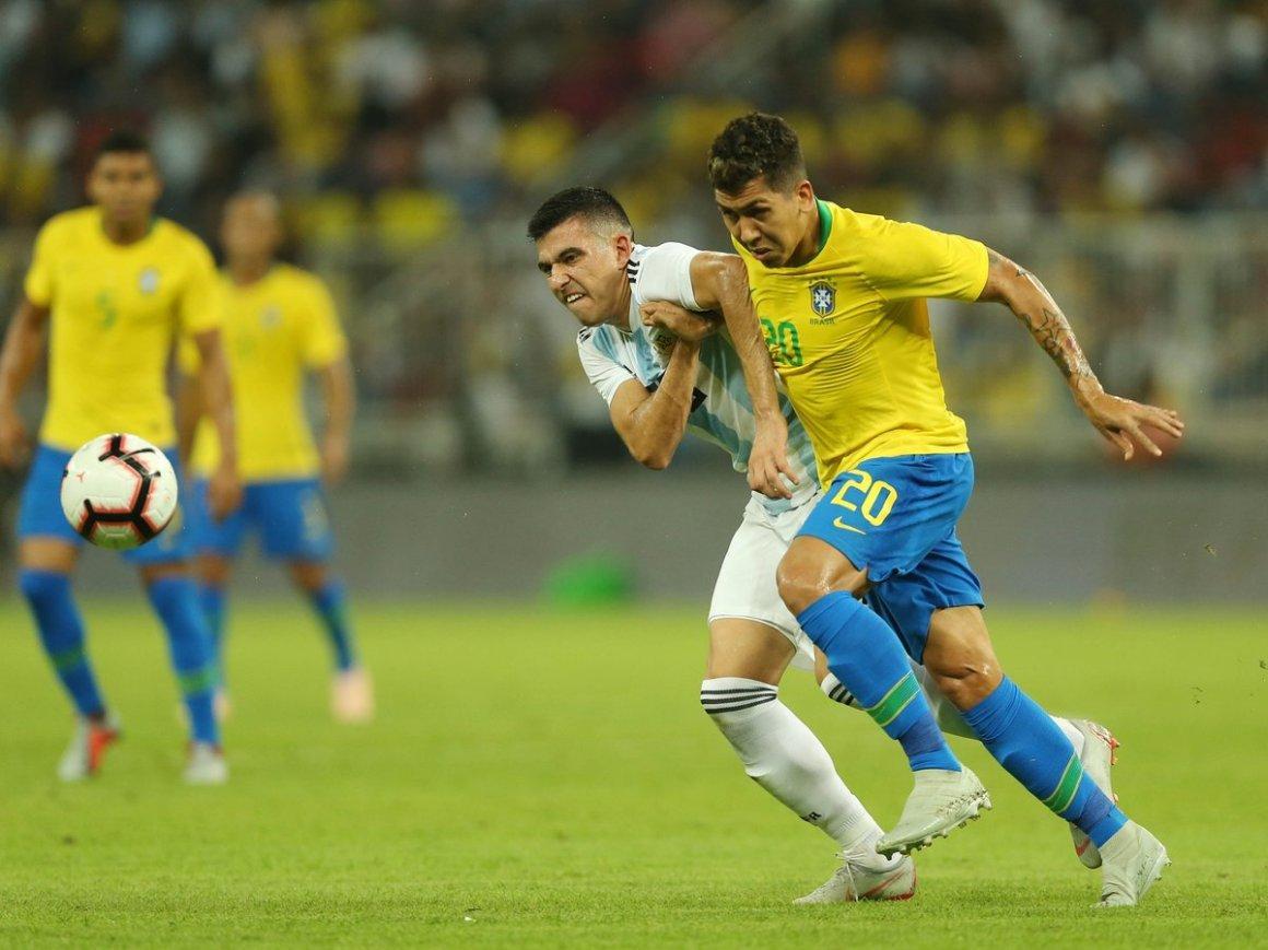 Ở lần đối đầu gần nhất, Argentina đã thắng Brazil 1-0