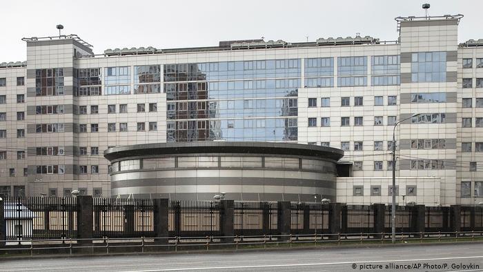 Будівля ГРУ в Москві