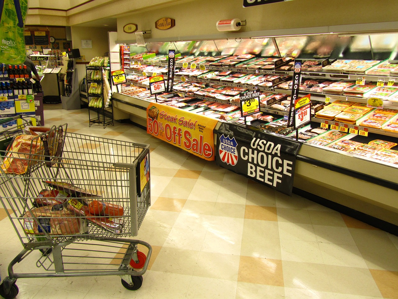 In-store trade promotions at grocery