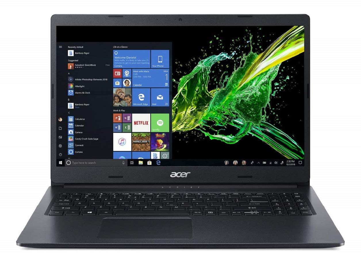 Acer Aspire 3 Thin A315-55G 15.6-inch Full HD Thin and Light Notebook