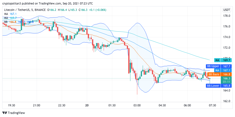 Litecoin Price Analysis: LTC pulled from $176 to $165 major resistance 1