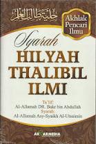 Syarah Hilyah Thalibil Ilmi (Akhlak Pencari ilmu) | RBI
