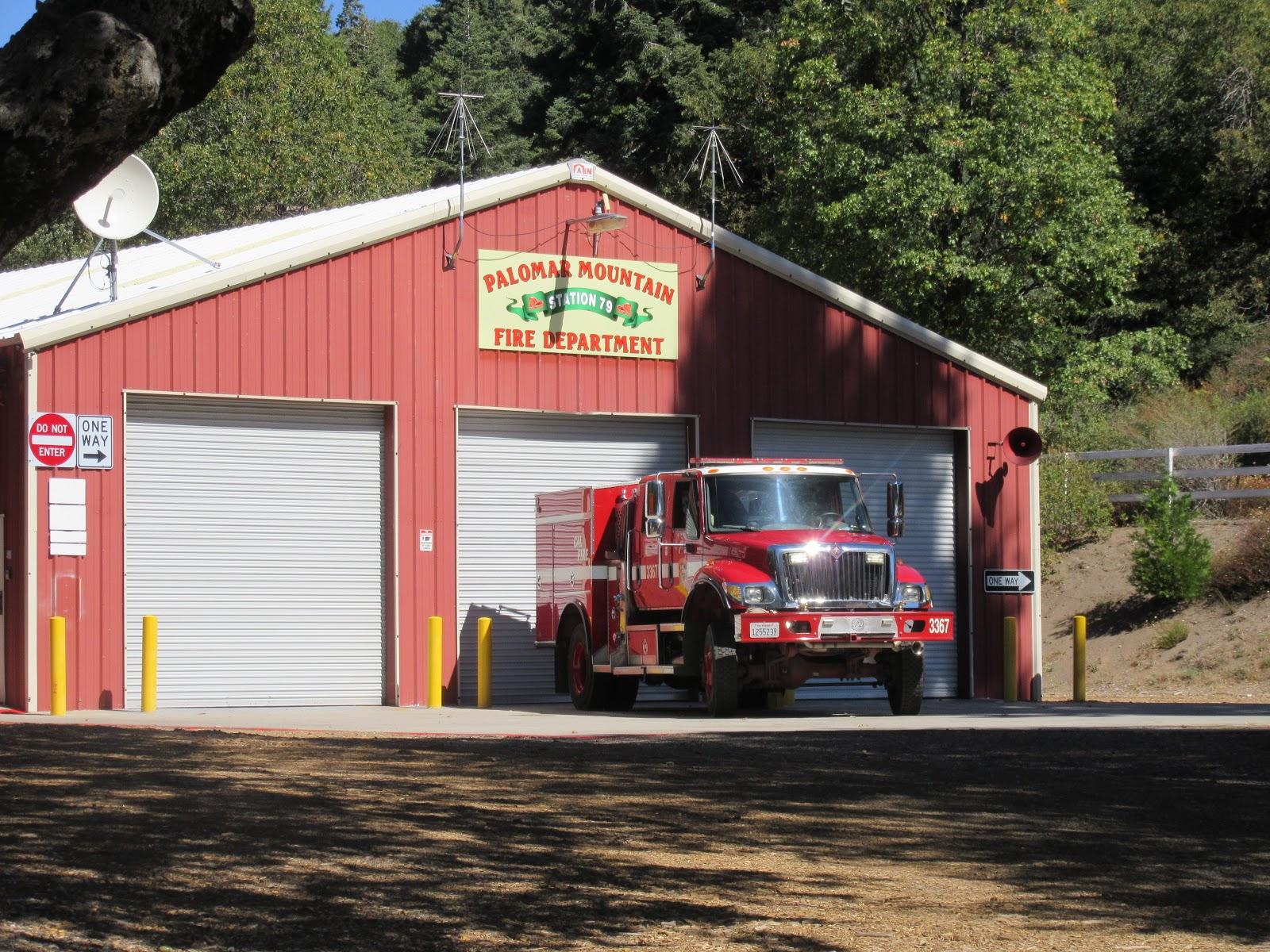 Mt Palomar Fire Station