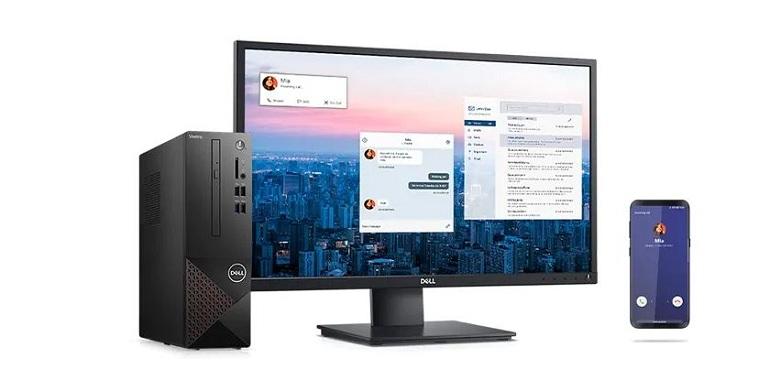 PC Dell Vostro 3681 SFF (i3 10100/4GB/256GB SSD/WL/KB+M/Win10H/1Yr) (42VT360006)   Điện thoại thông minh dễ dàng