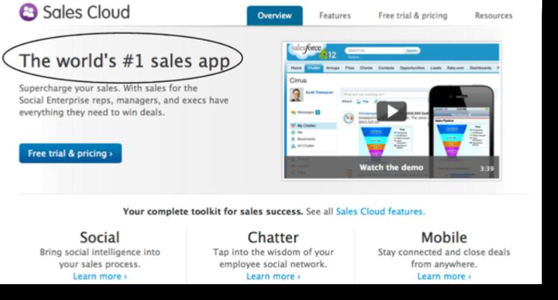 sales cloud screenshot saas web design
