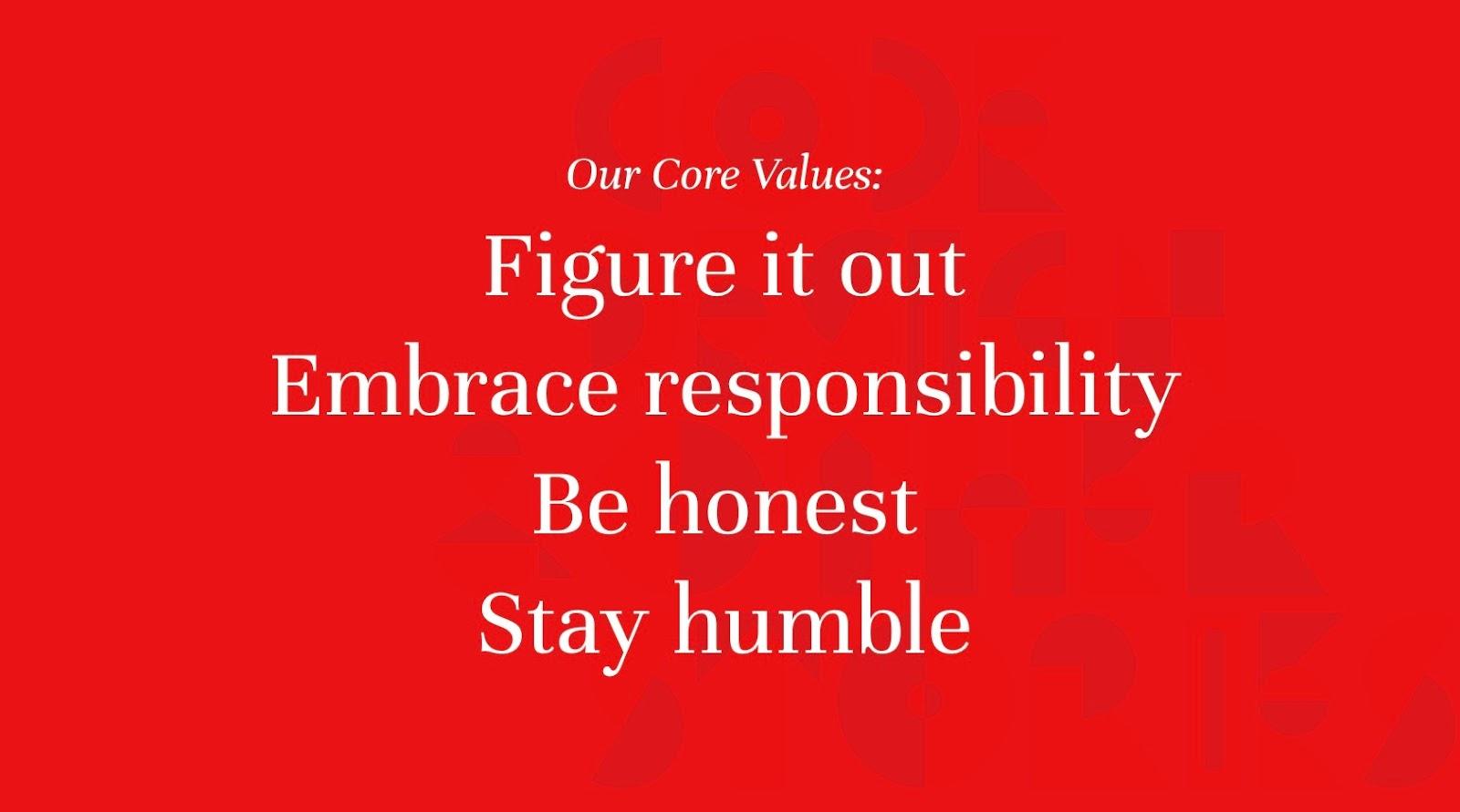 Monterail Core Values