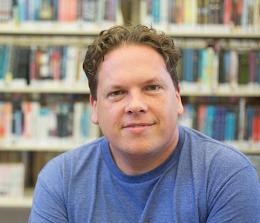 Author Adam Messer (Photo credit: Molly Hayden)