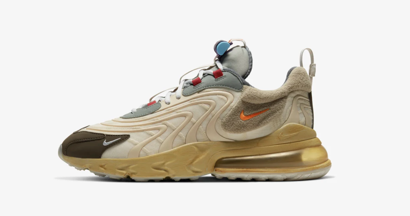 TRAVIS SCOTT NIKE AIR MAX 270 REACT — Rarest Sneaker 2020