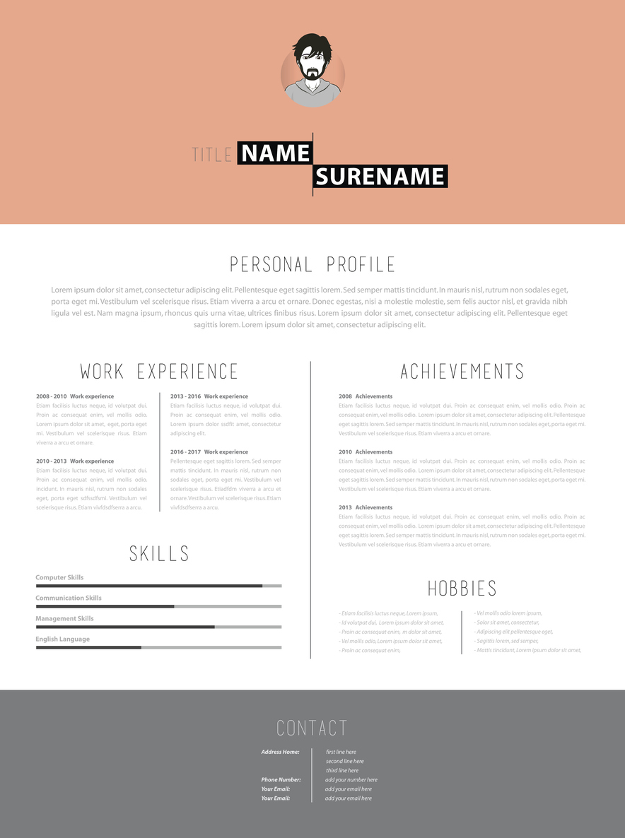 what to put in your cv www