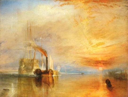 Resultado de imagem para turner pintor romantico